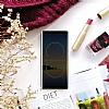 Rock Samsung Galaxy Note 8 Manyetik Kapaklı Gold Kılıf - Resim 1