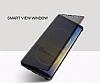 Rock Samsung Galaxy Note 8 Manyetik Kapaklı Siyah Kılıf - Resim 2