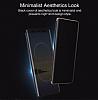 Rock Samsung Galaxy Note 8 Manyetik Kapaklı Siyah Kılıf - Resim 9