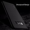 Rock Samsung Galaxy Note 8 Manyetik Kapaklı Siyah Kılıf - Resim 8