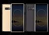 Rock Samsung Galaxy Note 8 Manyetik Kapaklı Gold Kılıf - Resim 9
