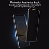Rock Samsung Galaxy Note 8 Manyetik Kapaklı Gold Kılıf - Resim 6
