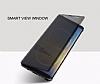 Rock Samsung Galaxy Note 8 Manyetik Kapaklı Gold Kılıf - Resim 2