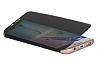 Dafoni Samsung Galaxy S8 Manyetik Kapaklı Siyah Kılıf - Resim 4