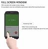 Dafoni Samsung Galaxy S8 Manyetik Kapaklı Siyah Kılıf - Resim 8