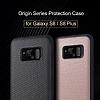 Rock Samsung Galaxy S8 Plus Karbon Siyah Rubber Kılıf - Resim 5