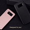 Rock Samsung Galaxy S8 Plus Karbon Siyah Rubber Kılıf - Resim 6