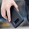 Rock Samsung Galaxy S8 Plus Karbon Siyah Rubber Kılıf - Resim 9