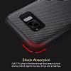 Rock Samsung Galaxy S8 Plus Karbon Siyah Rubber Kılıf - Resim 7
