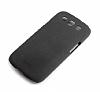 Rock Samsung i9300 Galaxy S3 Quicksand Siyah Rubber K�l�f