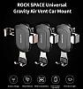 Rock Space Gravity Universal Silver Araç Havalandırma Tutucu - Resim 8