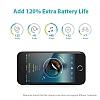 Romoss iPhone 7 / 8 2800 mAh Siyah Bataryalı Kılıf - Resim 9