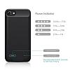 Romoss iPhone 7 / 8 2800 mAh Siyah Bataryalı Kılıf - Resim 6