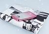 Samsung Galaxy A5 2017 Simli Parlak Pembe Silikon Kılıf - Resim 2