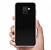 Samsung Galaxy A6 Plus 2018 Ultra İnce Şeffaf Silikon Kılıf - Resim 1