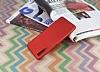 Samsung Galaxy A7 2018 Mat Kırmızı Silikon Kılıf - Resim 2