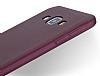 Samsung Galaxy A8 Mat Siyah Silikon Kılıf - Resim 2