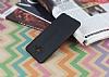 Samsung Galaxy C5 Deri Desenli Ultra İnce Siyah Silikon Kılıf - Resim 2
