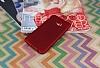 Samsung Galaxy C5 Mat Kırmızı Silikon Kılıf - Resim 2