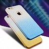 Samsung Galaxy C5 Simli Mor Silikon Kılıf - Resim 1