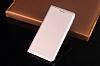 LG Q6 İnce Yan Kapaklı Cüzdanlı Gold Kılıf - Resim 1