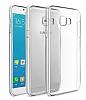 Samsung Galaxy C7 Pro Şeffaf Kristal Kılıf - Resim 2