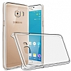Samsung Galaxy C7 Pro Şeffaf Kristal Kılıf - Resim 1