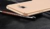 Samsung Galaxy C7 Pro Tam Kenar Koruma Gold Rubber Kılıf - Resim 4