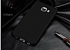 Samsung Galaxy C7 Pro Tam Kenar Koruma Siyah Rubber Kılıf - Resim 6