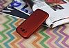 Samsung Galaxy Grand 2 Mat Kırmızı Silikon Kılıf - Resim 2
