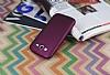 Samsung i9082 Galaxy Grand Duos Mat Mor Silikon Kılıf - Resim 1