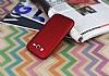 Samsung i9082 Galaxy Grand Duos Mat Kırmızı Silikon Kılıf - Resim 2