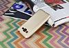 Samsung Galaxy Grand Prime / Prime Plus Mat Gold Silikon Kılıf - Resim 2
