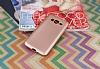 Samsung Galaxy Grand Prime / Prime Plus Mat Rose Gold Silikon Kılıf - Resim 1