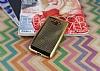 Samsung Galaxy Grand Prime / Prime Plus Noktalı Metalik Gold Silikon Kılıf - Resim 1