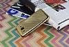 Samsung Galaxy Grand Prime / Prime Plus Noktalı Metalik Gold Silikon Kılıf - Resim 2