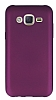 Samsung Galaxy J2 Mat Mürdüm Silikon Kılıf