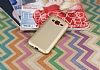 Samsung Galaxy J2 Mat Gold Silikon Kılıf - Resim 1