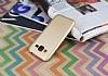 Samsung Galaxy J2 Mat Gold Silikon Kılıf - Resim 2