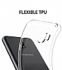 Samsung Galaxy J2 Pro 2018 Ultra İnce Şeffaf Siyah Silikon Kılıf - Resim 1