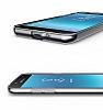Samsung Grand Prime Pro J250F Ultra İnce Şeffaf Siyah Silikon Kılıf - Resim 3