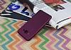 Samsung Galaxy J3 Pro Mat Mürdüm Silikon Kılıf - Resim 1