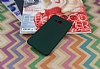 Samsung Galaxy J3 Pro Mat Yeşil Silikon Kılıf - Resim 1