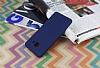 Samsung Galaxy J3 Pro Mat Lacivert Silikon Kılıf - Resim 2
