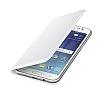 Samsung Galaxy J5 Orjinal Flip Wallet Beyaz Kılıf - Resim 2