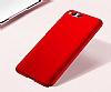 Xiaomi Mi 6 Tam Kenar Koruma Kırmızı Rubber Kılıf - Resim 2