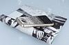 Samsung Galaxy J7 2016 Taşlı Geçişli Siyah Silikon Kılıf - Resim 2