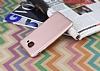 Samsung Galaxy J7 Max Mat Rose Gold Silikon Kılıf - Resim 2
