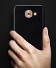 Samsung Galaxy J7 Max Tam Kenar Koruma Siyah Rubber Kılıf - Resim 5