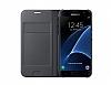 Samsung Galaxy J7 Prime Cüzdanlı Yan Kapaklı Gold Deri Kılıf - Resim 2